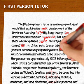 First Person Tutor