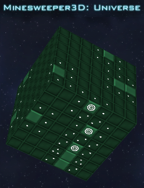 Minesweeper 3D Universe