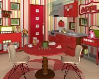Fruit Kitchens No. 27: Apple Red