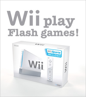 Wii to support Adobe Flash