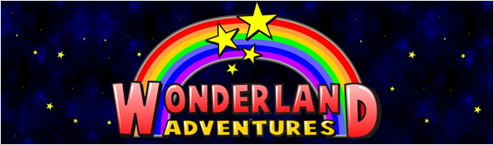 Wonderland Adventures banner
