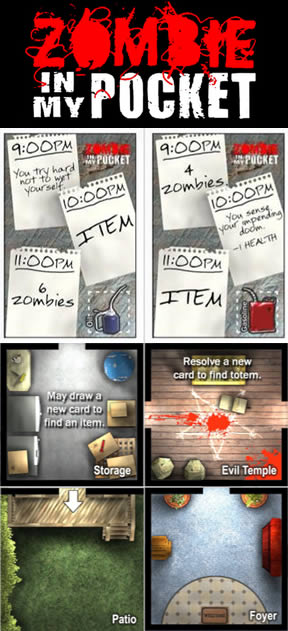 Zombie in my pocket walkthrough tips review for Table zombies pdf
